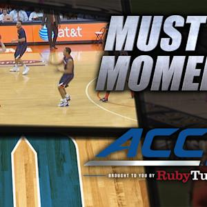 Syracuse's Trevor Cooney Banks Home 30-Foot Three | ACC Must See Moment