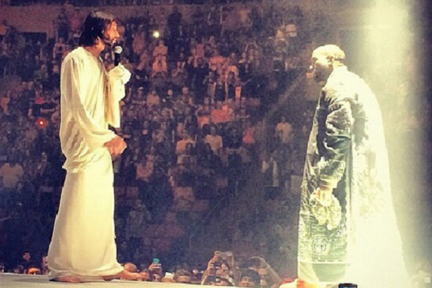 Kanye West Calls in Jesus to Kick Off Yeezus Tour