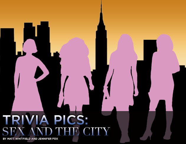 Sex and the City Trivia Pics Title Card