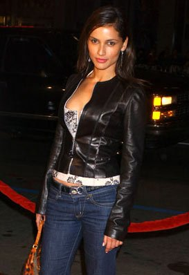 Leonor Varela at the Hollywood premiere of New Line Cinema's Blade: Trinity