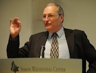 "The Nazi-hunting Simon Wiesenthal Centre said it has provided ""new evidence"" to authorities in Budapest on its most wanted suspect Laszlo Csatary, believed to be living in Hungary. The centre's Efraim Zuroff, pictured in 2009, ""last week submitted new evidence to the prosecutor in Budapest regarding crimes committed during World War II by its No 1 Most Wanted suspect Laszlo Csatary,"" it said"