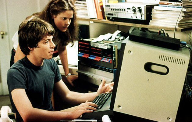 Matthew Broderick and Ally Sheedy in 1983's 'WarGames'
