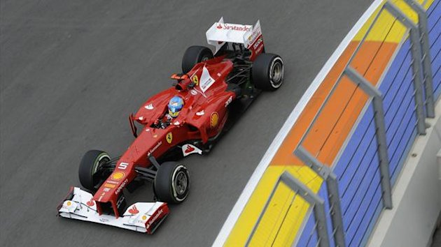 2012 European GP Ferrari Alonso