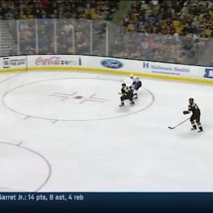Tuukka Rask Save on Justin Williams (04:41/3rd)