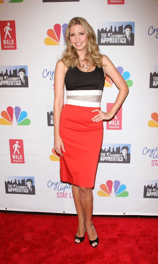 Ivanka Trump at the Celebrity Apprentice Live Finale