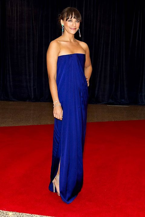 Rashida Jones White House Dnner