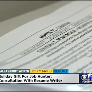 North Texas Jobs Report: Holiday Gifts For Job Seekers
