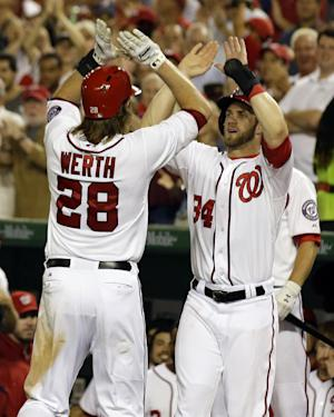 Gonzalez helps Nationals rout Marlins 9-0