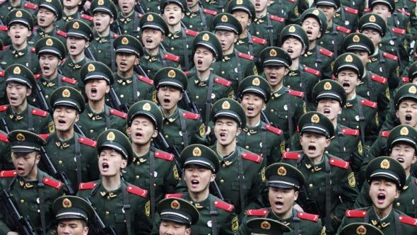 China's military might
