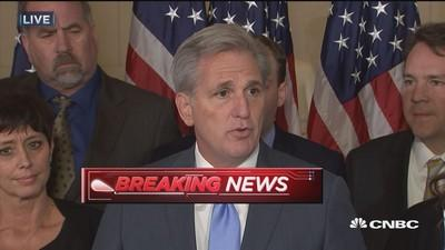 McCarthy dropping out of House speaker race