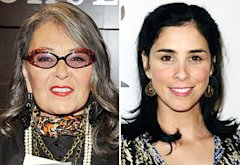 Rosanne Barr, Sarah Silverman | Photo Credits: Dr. Billy Ingram/WireImage