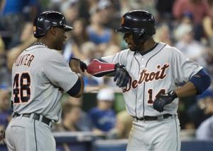 Jackson has 4 hits, Tigers beat Blue Jays 11-1