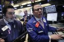 Dow Jones surges to record close