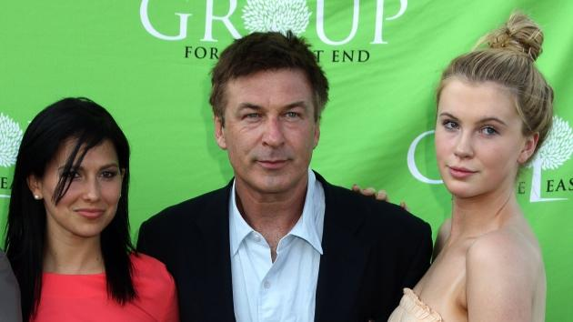 Hilaria Thomas, Alec Baldwin, and Ireland Baldwin attend the Group For The East End's 40th Anniversary Benefit And Auctionat Wolffer Estate Vineyard in Sagaponack, New York on June 23, 2012  -- Getty Premium