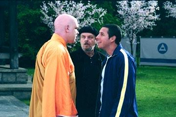 John C. Reilly , Jack Nicholson and Adam Sandler in Columbia's Anger Management