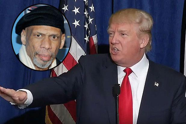 Donald Trump Slams NBA Great Kareem Abdul-Jabbar for Writing Critical Column