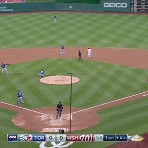 Donaldson's barehanded play
