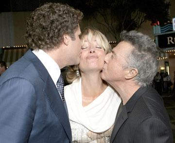 Will Ferrell , Emma Thompson and Dustin Hoffman at the Los Angeles premiere of Columbia's Stranger Than Fiction