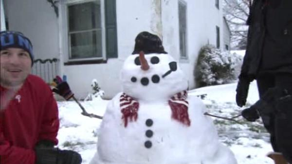 Winter storm brings mostly snow to suburbs
