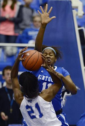 No. 7 Kentucky women beat Middle Tennessee 84-72