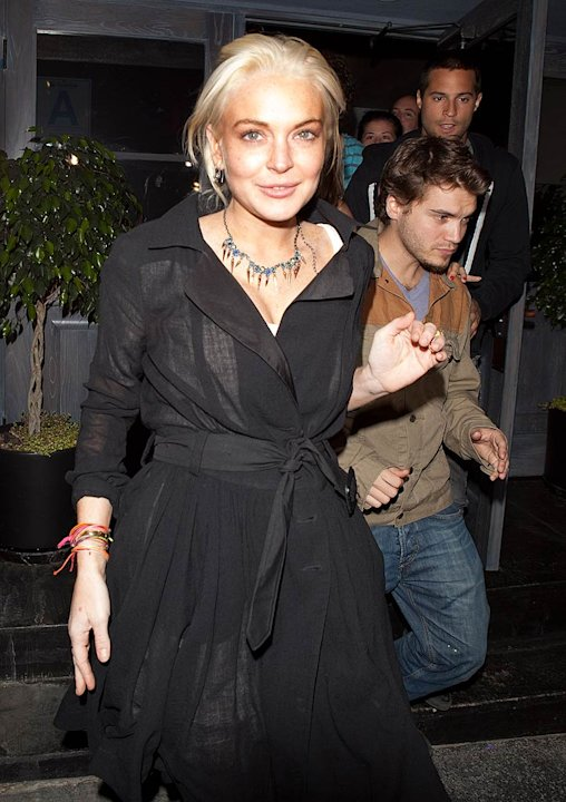 Lindsay Lohan Lexington Club