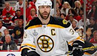 Boston Bruins captain Zdeno Chara.