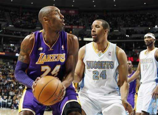 Chandler leads Nuggets past Lakers, 119-108