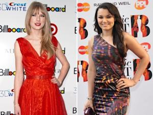 Taylor Swift / Samantha Barks  -- Getty Premium