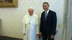 The Pope and President Obama