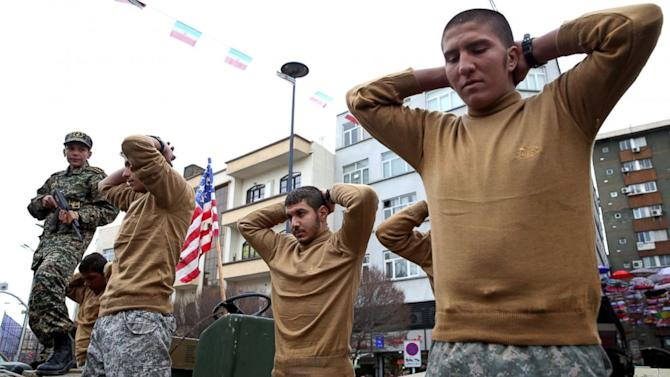 Iran Mocks US Sailors in Revolution Day Parade