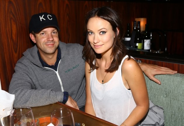 Jason Sudeikis and Olivia Wilde attend Glamour Presents &#39;These Girls&#39; at Joe&#39;s Pub in New York City on October 8, 2012 -- Getty Images