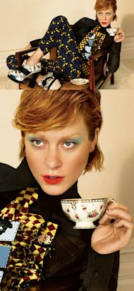 FIRST LOOK! Chloe Sevigny is new face of Miu Miu