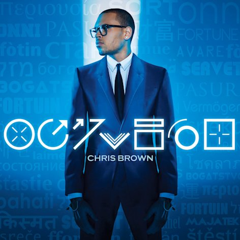 "This CD cover image released by RCA Records shows the latest release by Chris Brown. ""Fortune."" (AP Photo/RCA Records)"