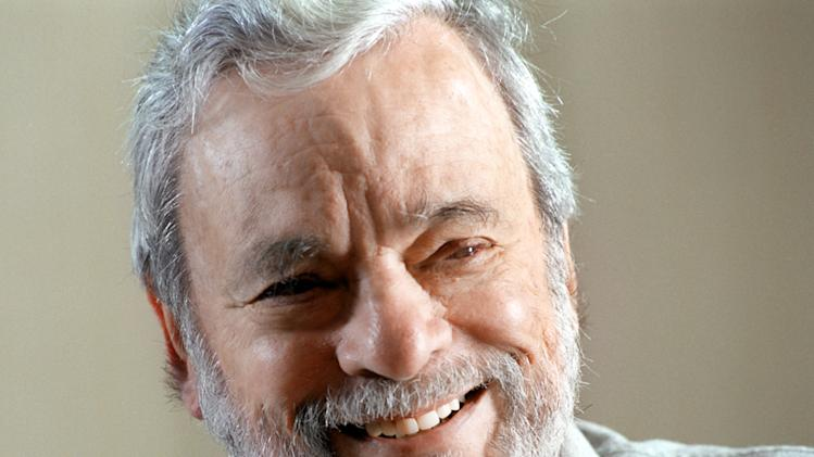 "This image released by HBO shows Stephen Sondheim from ""Six by Sondheim."" A portrait of the legendary Broadway composer-lyricist whose works include ""Company,"" ""Sweeney Todd"" and ""Sunday in the Park with George."" It was an exhilarating, illuminating look at artistic achievement. (AP Photo/HBO, Jerry Jackson)"