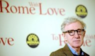 US film director Woody Allen arrives at the premiere of his last film &quot;To Rome With Love&quot; at the Auditorium Parco della Musica in Rome on April 13, 2012. The red carpet glamour, the frenzied fans, the media: Cannes is Allen&#39;s worst nightmare, the US filmmaker confides in an up-close documentary screened at the film festival Wednesday