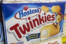 File photo of a box of Hostess Twinkies on the shelves at a Wonder Bread Hostess Bakery Outlet in Glendale