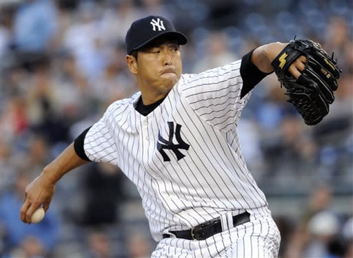 Kuroda leads Yankees over Blue Jays 5-0