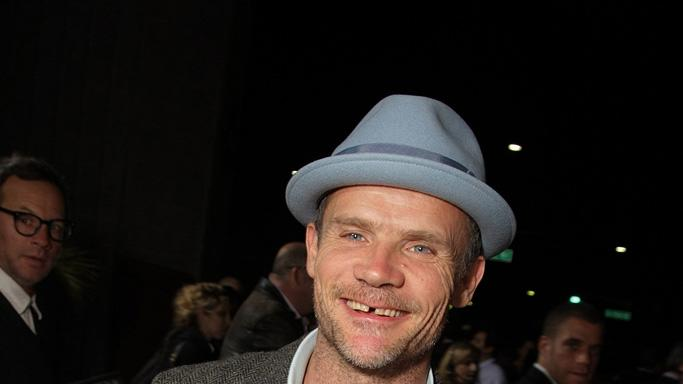 Milk Los Angeles Premiere 2008 Flea