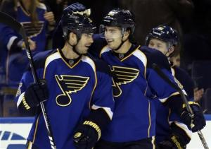Vladimir Sobotka lifts Blues past Wild in OT