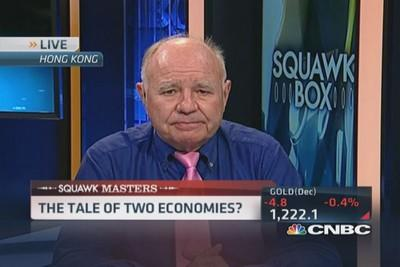 Farber: Consumers squeezed in 'dual' economy