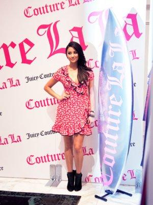 'Pretty Little Liars' Shay Mitchell Talks Style, Scent at Juicy Couture Fragrance Launch