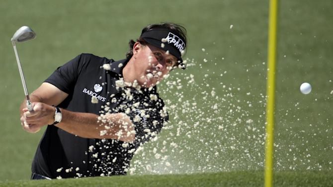 A wild ride for Mickelson to start Masters