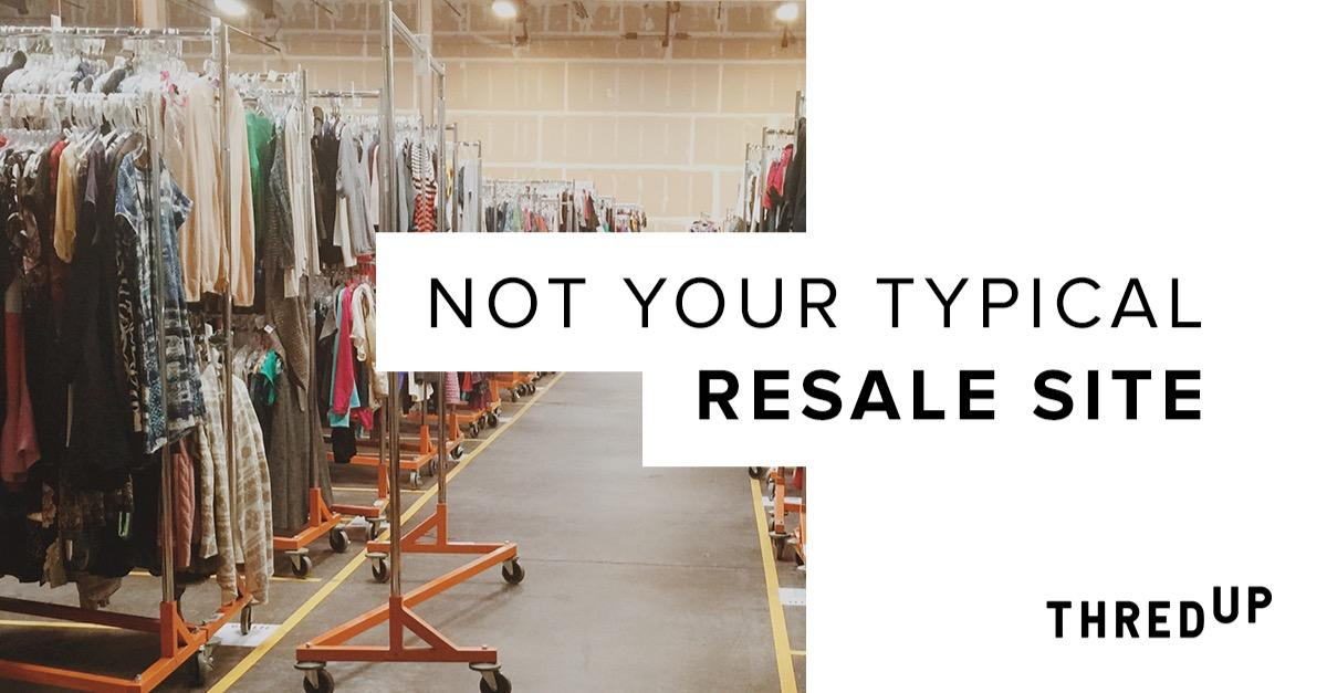 Not Your Typical Resale Site