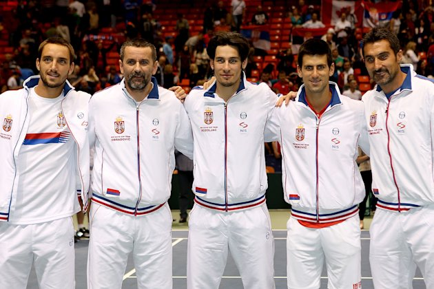 Davis Cup - USA v Serbia