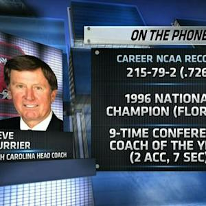 Steve Spurrier talks South Carolina football