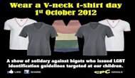 Netizens to hold 'V-neck Day' on Oct 1