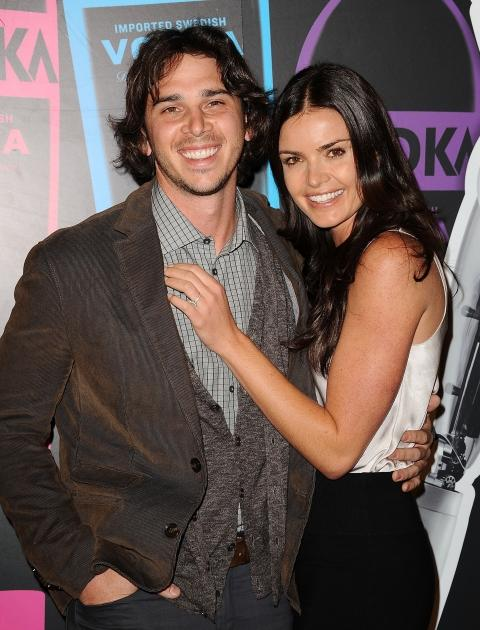 """Ben Flajnik and Courtney Robertson attend Svedka's Second Annual """"Night Of A Billion Reality Stars"""" Bash in Los Angeles on March 29, 2012 -- FilmMagic"""