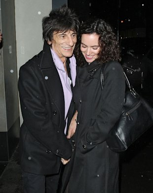 Spring Wedding! Ronnie Wood 'Set To Marry Sally Humphreys In London In May'