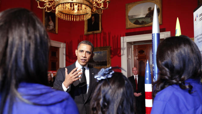 President Obama Hosts White House Science Fair