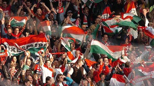 Fans of Hungary were found guilty of anti-Semitic abuse against Israel